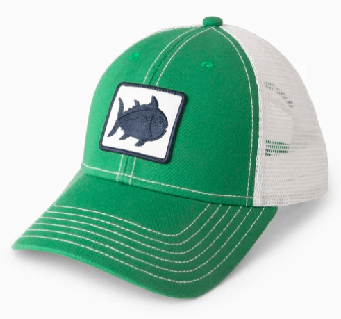 Southern Tide Hats One Size / Kelly Green Southern Tide, Men's Fly Patch Skipjack Trucker Hat (Multiple Colors)