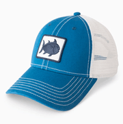 Southern Tide Hats One Size / Ocean Blue Southern Tide, Men's Fly Patch Skipjack Trucker Hat (Multiple Colors)