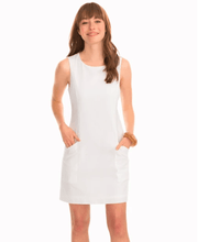 Southern Tide Women's Dresses 0 / White Southern Tide, Women's Paislee Seersucker Dress (Multiple Colors)