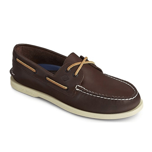 Sperry Men's Shoes Sperry, Men's A/O 2 Eye Shoe (Dark Brown)