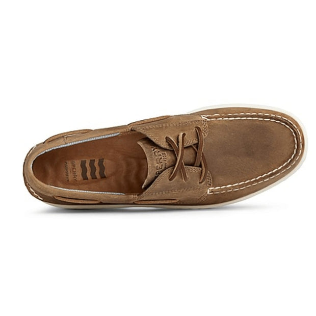 Sperry, Men's Billfish Plushwave Shoe (Light Brown)