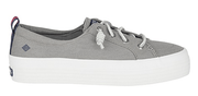 Sperry Women's Shoes 10 / Grey Sperry, Women's Crest Vibe Platform (Grey)