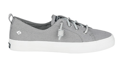 Sperry Women's Shoes 10 / Grey Sperry, Women's Crest Vibe Sneaker (Grey)