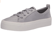 Sperry Women's Shoes Silver / 7 Sperry, Women's Crest Vibe Platform (Silver)