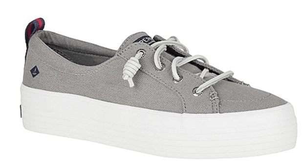 Sperry Women's Shoes Sperry, Women's Crest Vibe Platform (Grey)