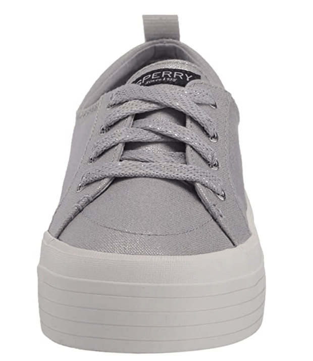 Sperry Women's Shoes Sperry, Women's Crest Vibe Platform (Silver)