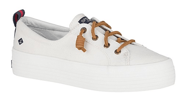 Sperry Women's Shoes Sperry, Women's Crest Vibe Platform (White)