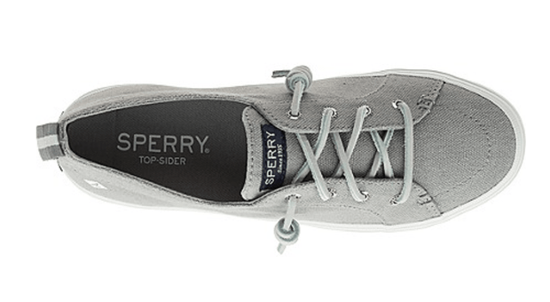 Sperry Women's Shoes Sperry, Women's Crest Vibe Sneaker (Grey)