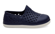 TOMS Kid's Shoes Toddler 10 / Navy Toms, Toddlers Romper Tiny Slip-Ons (Navy-Blue)