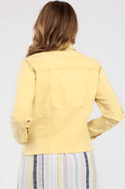 Tribal Women's Jacket Tribal, Women's Jean Jacket (Yellow)