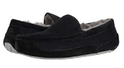 Ugg Men's Shoes 10 / Black Ugg, Men's Ascot Corduroy Slippers (Black)