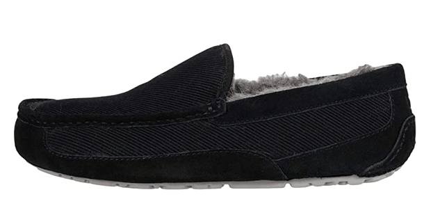 Ugg Men's Shoes Ugg, Men's Ascot Corduroy Slippers (Black)