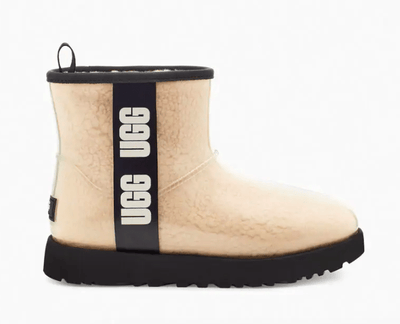 Ugg Women's Boots 10 / Natural Beige Ugg, Women's Classic Clear Mini Boots (Multiple Colors)