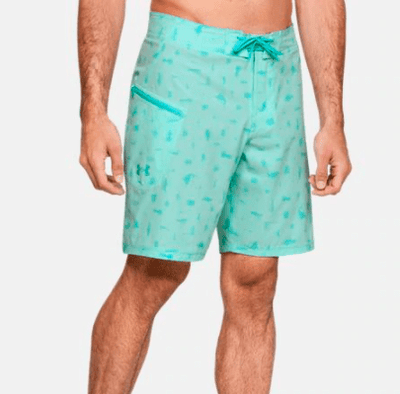 Under Armour Men's Bathing Suit 32 / Aqua Float Blue Under Armour, Men's Tide Chaser Boardshort (Multiple Colors)