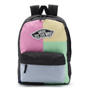 Vans Backpack Patchwork Pink Vans, Realm Backpack (Multiple Colors)