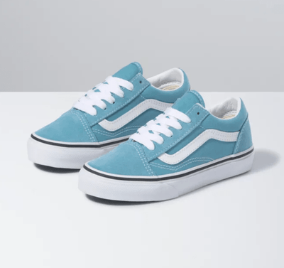 Vans Kid's Shoes Vans, Kid's Old Skool (Delphinium Blue)