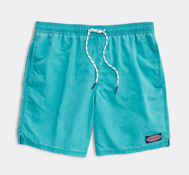 Vineyard Vines Men's Bathing Suit Large / Curacao Vineyard Vines, Men's Island Chappy Swim Trunks (Multiple Colors)