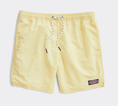 Vineyard Vines Men's Bathing Suit Large / Lemon Vineyard Vines, Men's Island Chappy Swim Trunks (Multiple Colors)