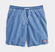 Vineyard Vines Men's Bathing Suit Large / Moon Vineyard Vines, Men's Island Chappy Swim Trunks (Multiple Colors)
