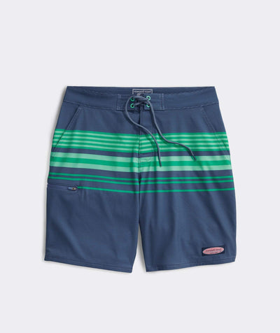Vineyard Vines Men's Bathing Suit Ocean Blue / 30 Vineyard Vines, Men's Striped Board Short (Multiple Colors)