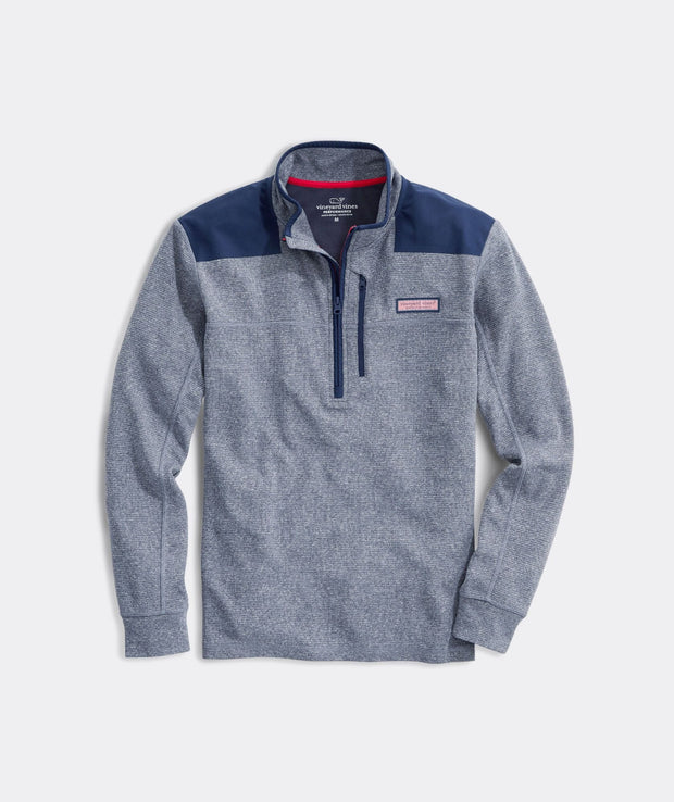 Vineyard Vines Men's Sweaters Medium Vineyard Vines, Men's Performance Ryder Shep Shirt (Deep Bay)