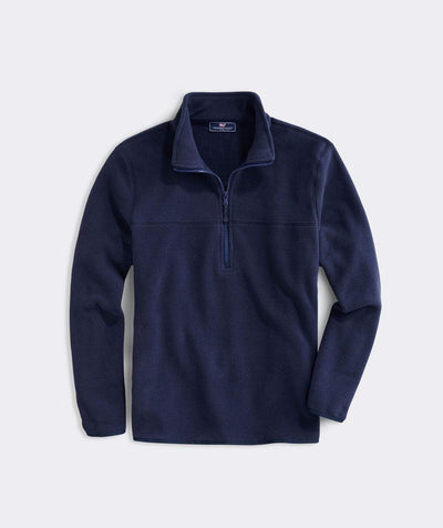 Vineyard Vines Men's Sweatshirt Large / Navy Vineyard Vines, Men's Fleece Harbor Quarter Zip (Navy)