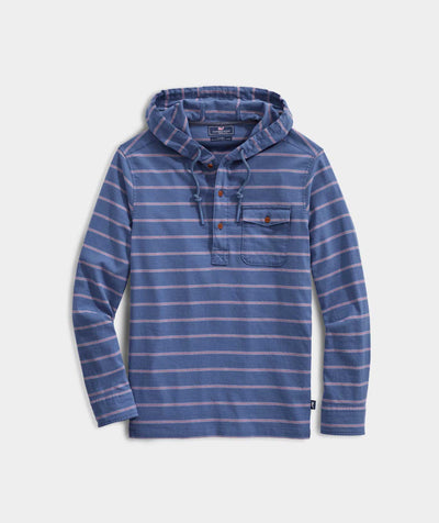 Vineyard Vines Men's Sweatshirt Small Vineyard Vines, Men's Terraplane Hoody (Moonshine)