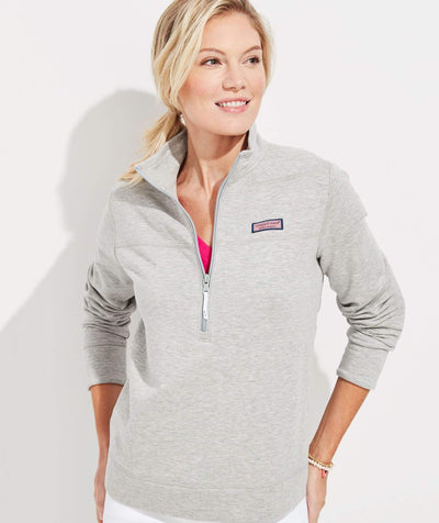 Vineyard Vines Women's Sweaters Large / Grey Vineyard Vines, Women's Dreamcloth Shep Shirt (Grey)