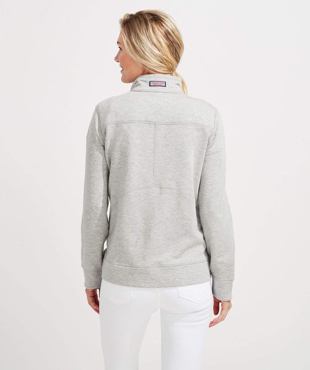 Vineyard Vines Women's Sweaters Vineyard Vines, Women's Dreamcloth Shep Shirt (Grey)