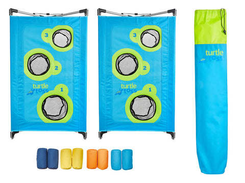 Turtle Toss Bean Bag Game, 2 Board Set