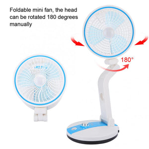 Multifunctional folding electric fan with Led Light Fan JH-2018 - Boum market