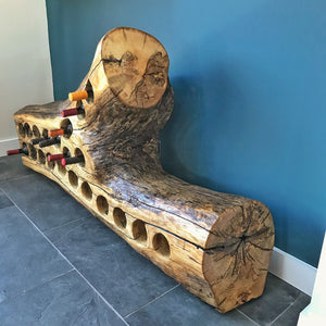 Large Wine Rack - Ash