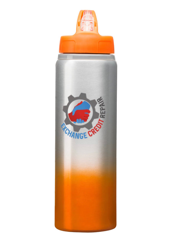 Quench your thirst with the new ECR 25oz BPA-FREE Water Bottle - Exchange Credit Repair