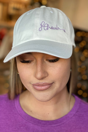 Purple Signature Series Cap