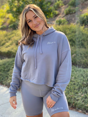 Signature Storm Cropped Hoodie