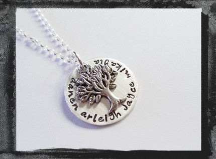 Family Tree - Sterling Silver