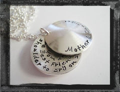 Between You & I - Secret Message Necklace