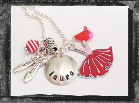 Ballerina Necklace -I COULD HAVE DANCED ALL NIGHT #D35