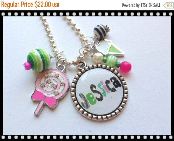 Personalized Necklace for Girls So Sweet #B50