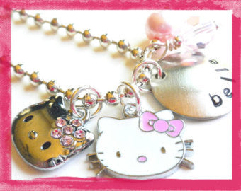 Hello Kitty Itty Bitty Princess Necklace #HK5