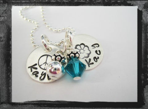 BFF Charms Necklace - Sister Necklace - Mommy Necklace