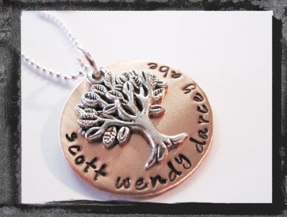 Family Tree - Copper and Silver