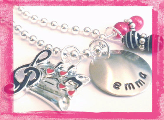Music Necklace for Girls