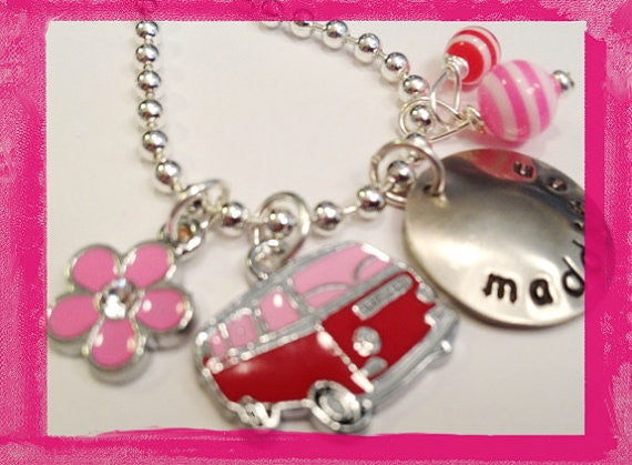 Summer Loving - Retro Bus Necklace for Girls