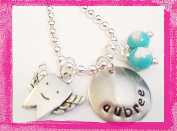 Tooth Fairy Charm Necklace for Girls