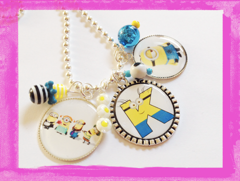 Minion Necklace Personalized necklace for Children #B60