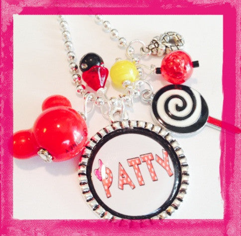 Personalized Minne Inspired Necklace - MAGICAL MOUSE -