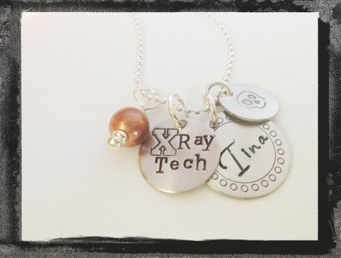 X Ray Tech Jewelry - Medical Necklace