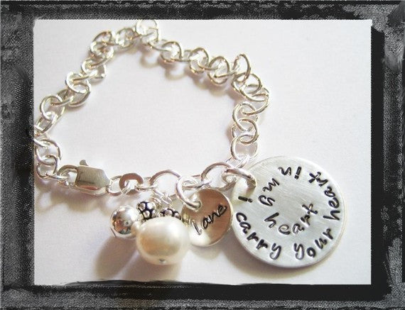 I CARRY YOUR HEART IN MY HEART - Bracelet