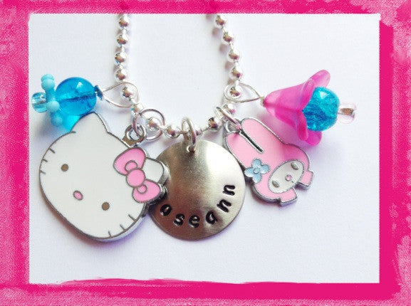 Kitty Necklace - KITTY AND HER FRIEND